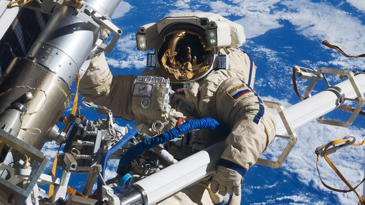 Cosmonauts Break Spacewalk Record After Accidentally Putting Antenna in Wrong Spot