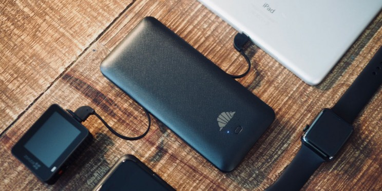 Keep All of Your Devices Powered up with This Portable Charger