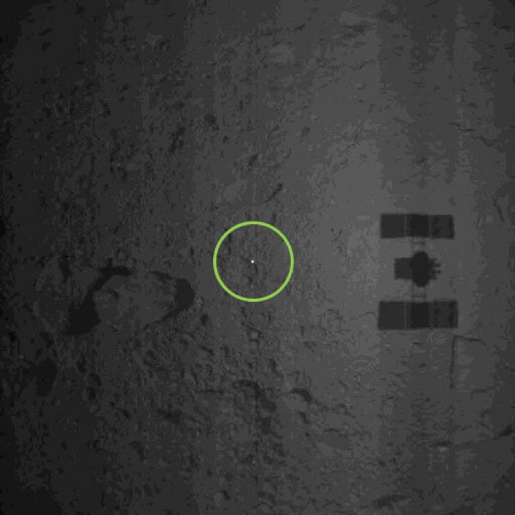 Hayabusa2 Space Probe Set to Collect Samples from Ryugu Asteroid