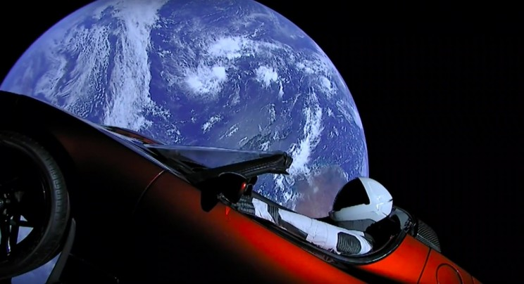 NASA Officially Lists Elon Musk's Floating Tesla Roadster As a Celestial Object