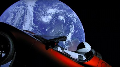 NASA Officially Lists Elon Musk's Floating Tesla Roadster As a Celestial Object