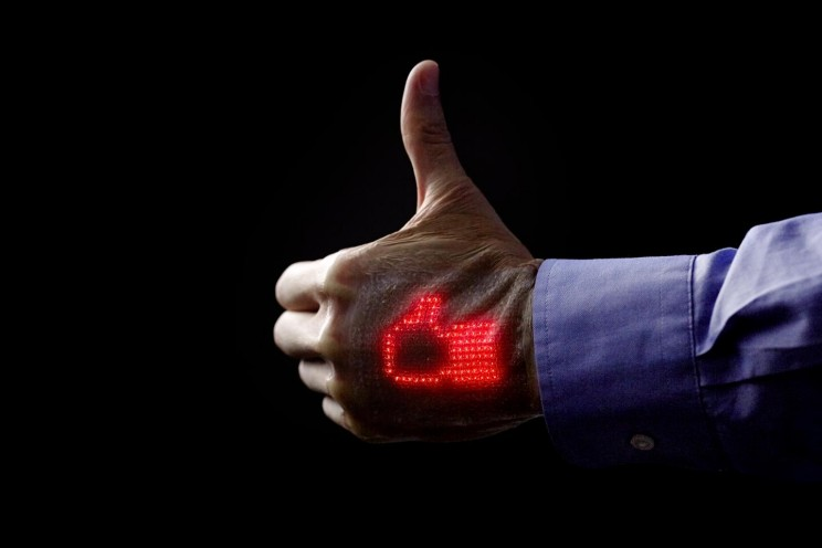 New Electronic Skin Puts Your Heartbeat on Your Hand