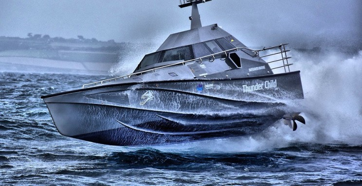 This 17-Meter Long High-Speed Boat Can Never Capsize