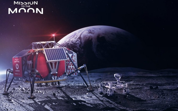 Vodafone and Nokia Will Create First 4G Network on the Moon in 2019