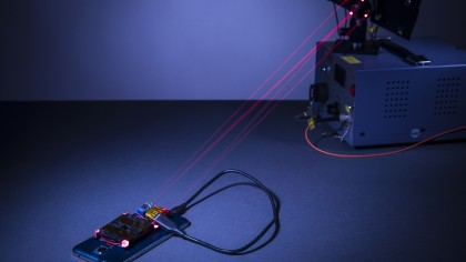 You Could Soon Charge Your Phone from Across the Room Using Lasers