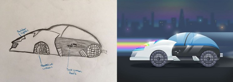 These Amazing Designs are the Future of Cars According to 11-Year-Olds