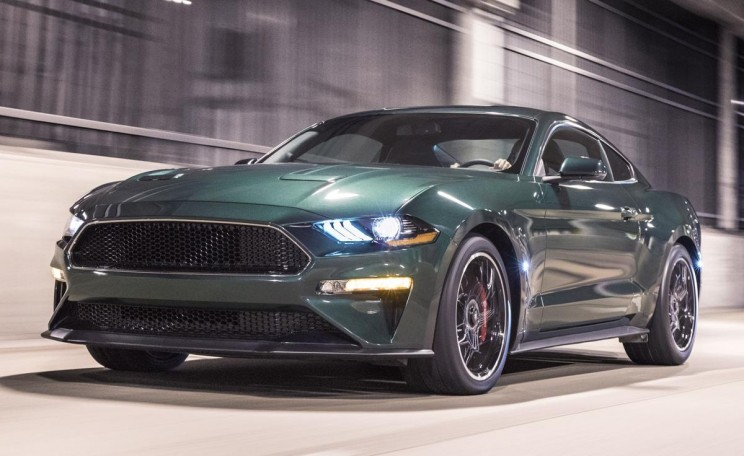 "Ford Unveils New Mustang Inspired by Steve McQueen's 1968 Movie ""Bullitt"""