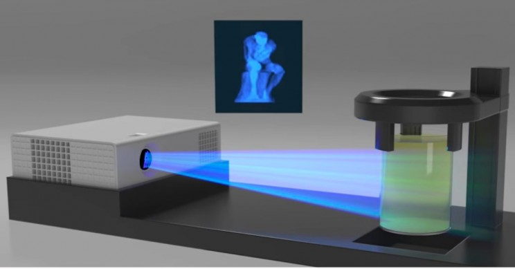 Fascinating New 3D Printer Using Rays of Light Has the Potential to Change Product Design