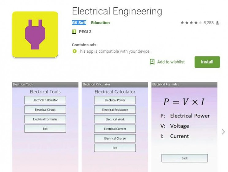 Best Android Apps for Engineers Electrical