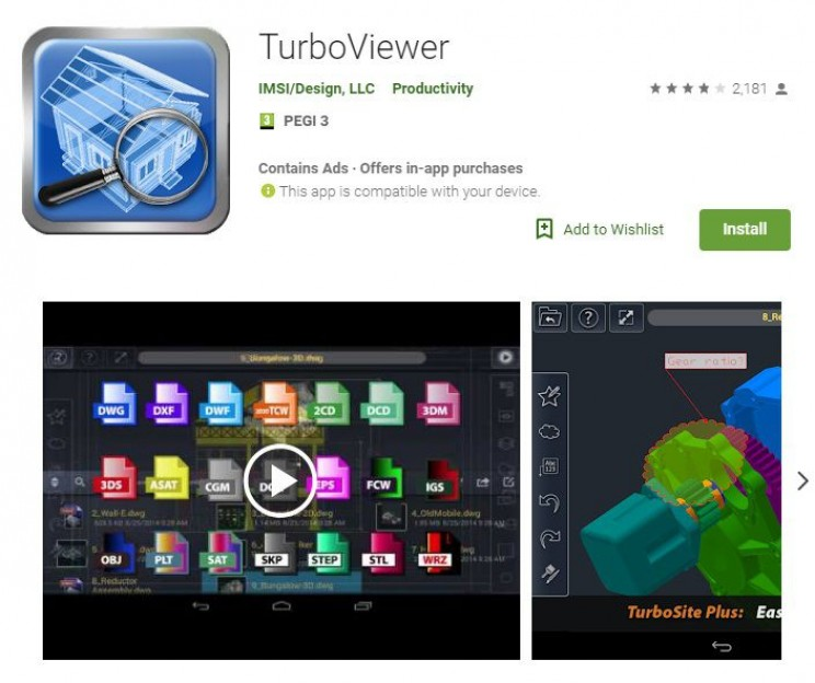 Best Android Apps for Engineers Turboviewer