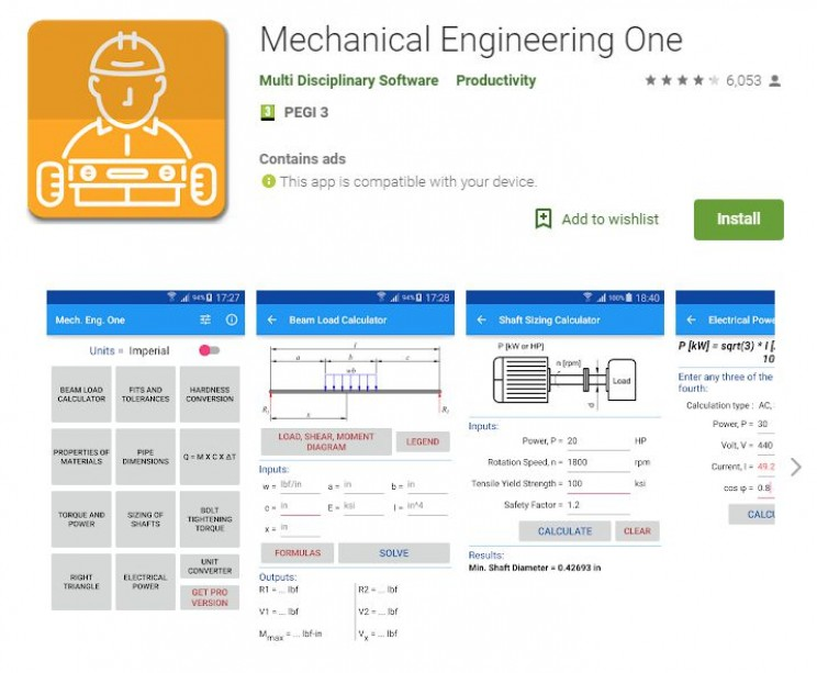 Best Android Apps for Engineers mechanical