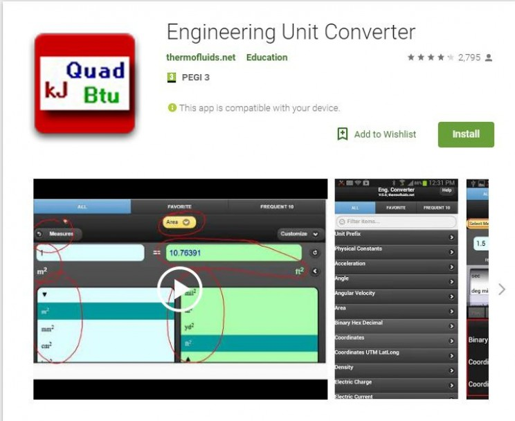 Best Android Apps for Engineers unit converter