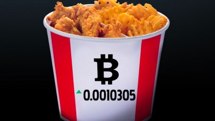 You Can Now Buy Fried Chicken with Bitcoin from KFC Canada