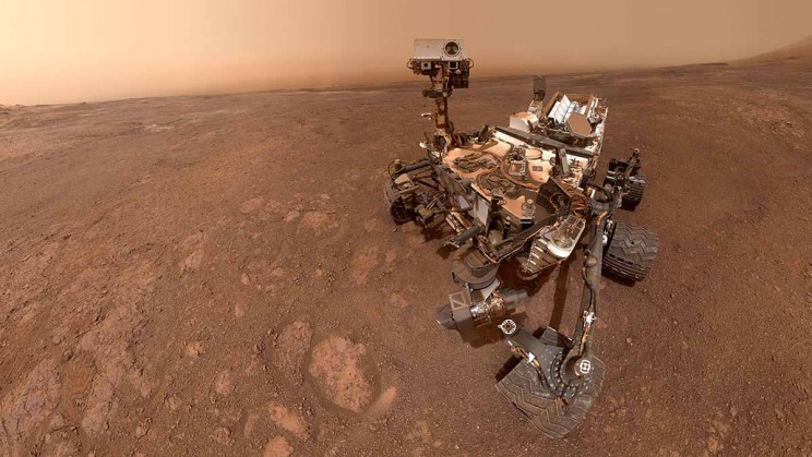 NASA's Curiosity Rover Snaps Selfie on Mars Before Moving on to Next Assignment