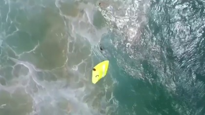 Drone Saves Lives of Two Teenage Swimmers in Australia