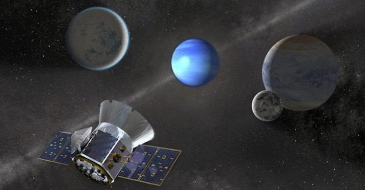 TESS Discovers New Planet Three Times as Big as Earth