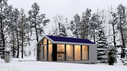 This 3D-Printed Home Can Be Built by a Robot in Just 8 Hours