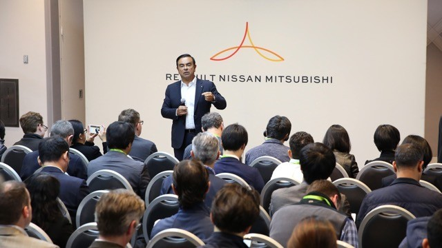 Renault-Nissan-Mitsubishi Alliance Plans to Invest Up to $1 Billion in New Automotive Tech