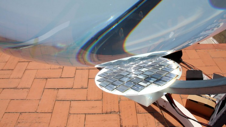 spherical solar power generator