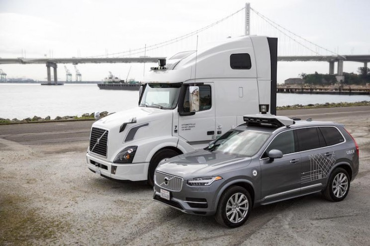 Nvidia Announces Partnership With VW and Uber for Self-Driving Cars