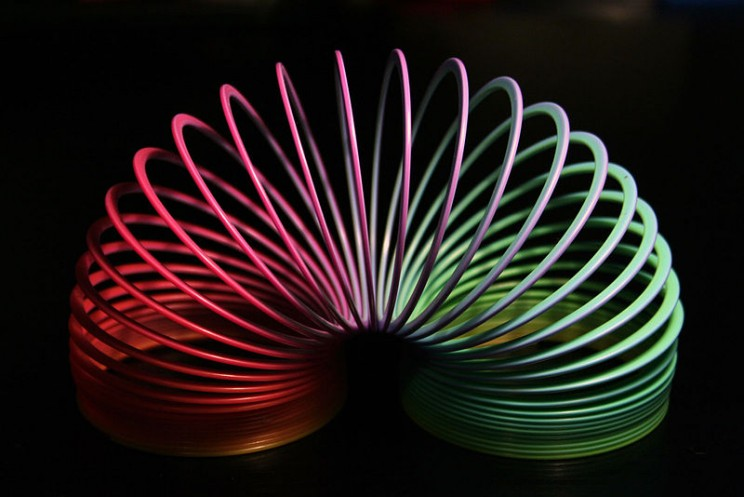 accidental scientific discoveries Slinky