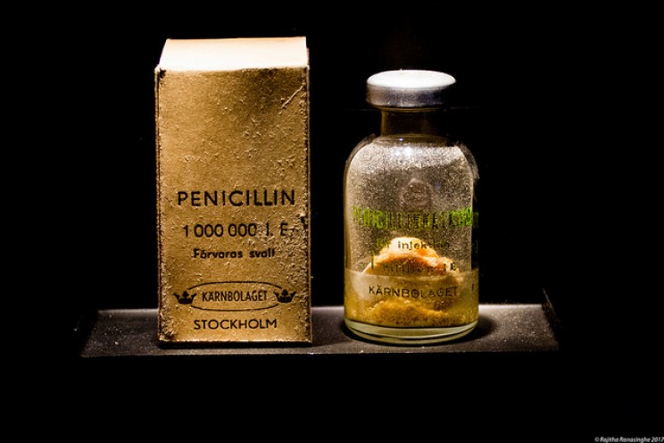 accidental scientific discoveries penicillin