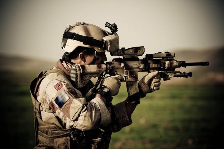 Best Military Rifles HK 416