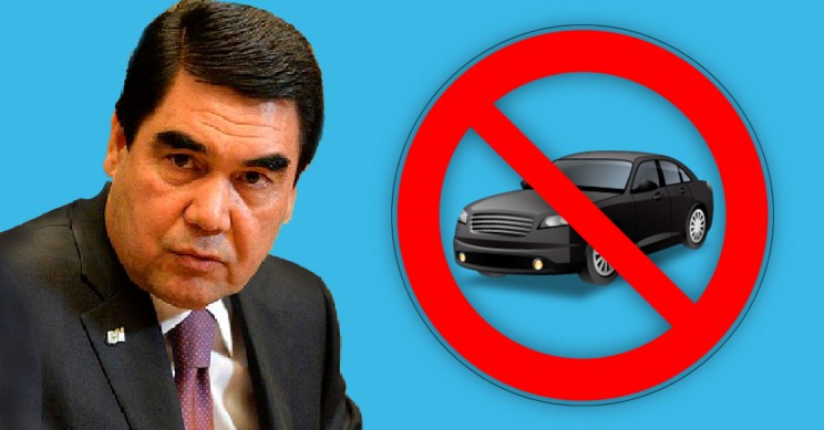 Black Cars Just Got Banned in Turkmenistan Because the President Prefers White