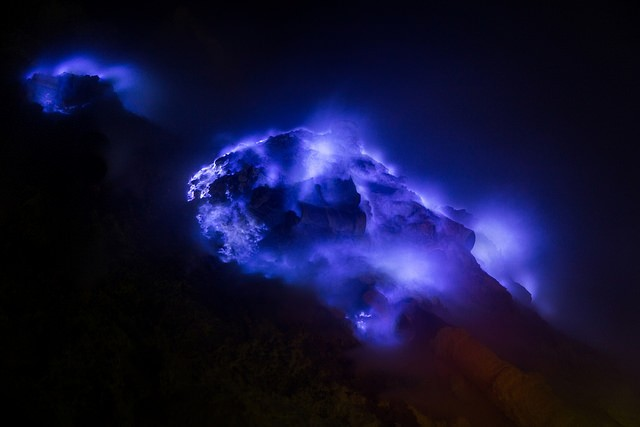 The Mystery of Blue Lava and the Kawah Ijen Volcano
