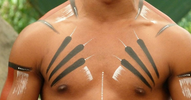 It Turns Out Body-Paint Protects You from Disease-Carrying Bloodsucking Insects