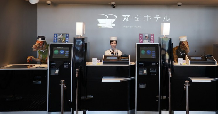 Japanese Hotel Fires Robot Staff After They Annoy Human Staff and Guests