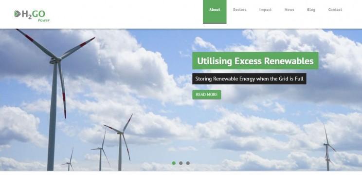 energy startups H2Go