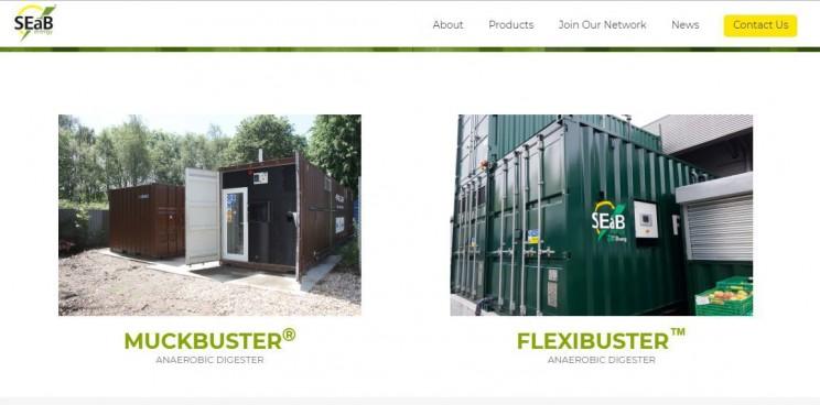 energy startups SEaB