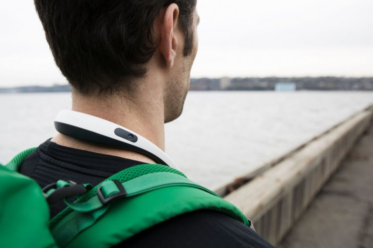 This New 360-Degree Camcorder Neckband Captures the World From your Point of View