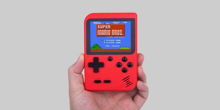 This Retro Gaming Console Comes Loaded with 400 Classic Games