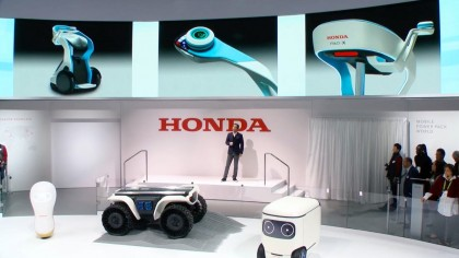 Honda Showcases Four New Mobility and Companionship Robot Concepts at CES