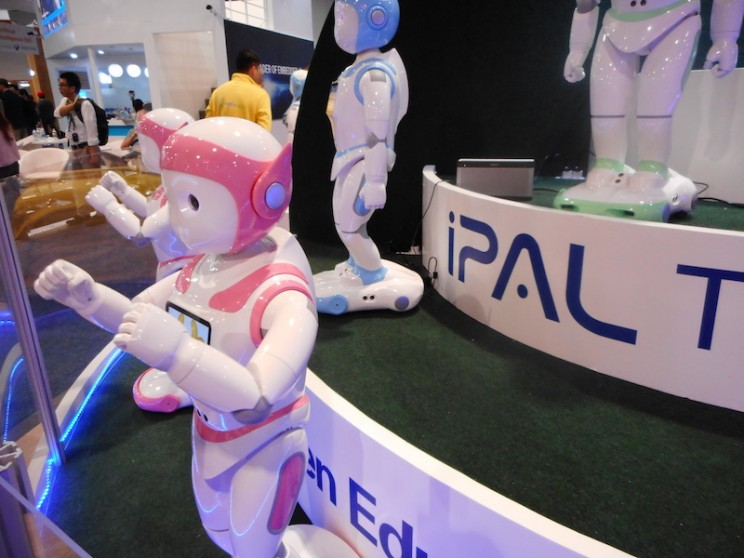 This Humanoid Robot is a Teacher for Children and a Companion for the Elderly