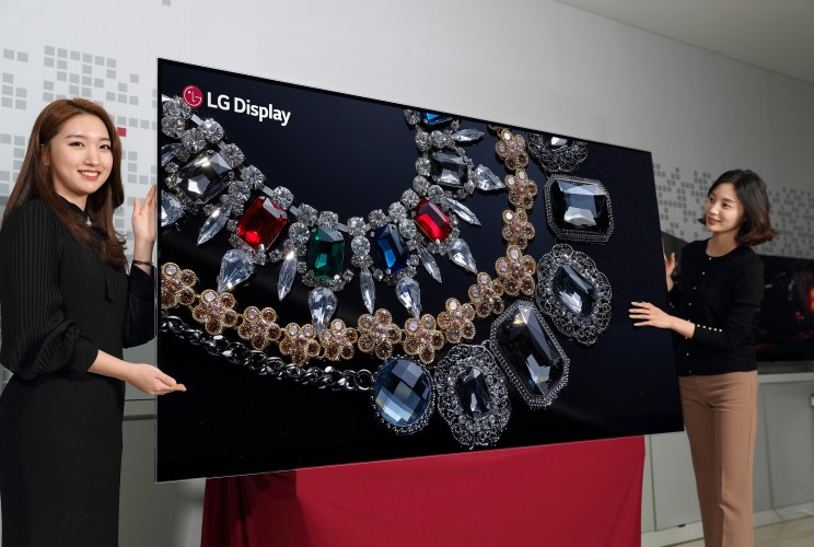 LG Display Announces the World's First 88-inch 8K OLED TV