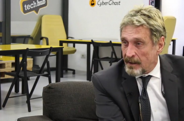 Cybersecurity Expert McAfee Blames Indian Banks for Cryptocurrency Drop