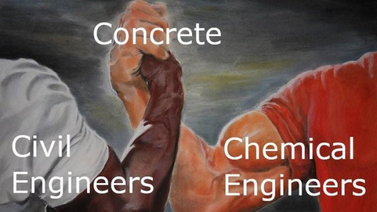 Memes About Engineers concrete