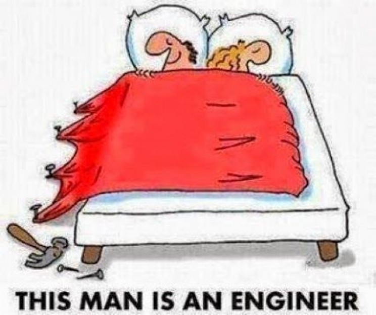 Memes About Engineers duvet