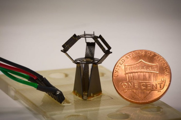 Harvard Researches Created a Blindingly Fast Origami-Inspired Robot