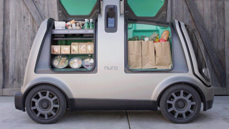 Ex-Googlers Launch Self-Driving Car Designed for Local Goods Transportation
