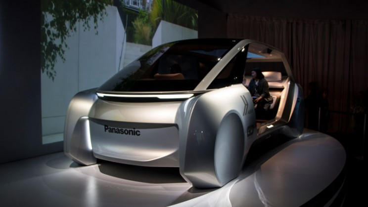 Panasonic Reveals a Driverless Vehicle that Doubles as a Relaxation Station