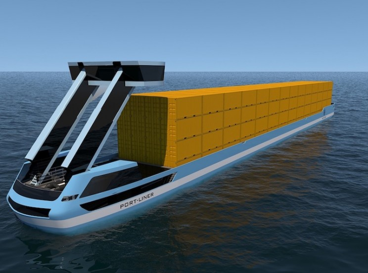 "Fully Electric Container Barges Dubbed the ""Tesla of the Canals"" Will Hit Waters This Summer"