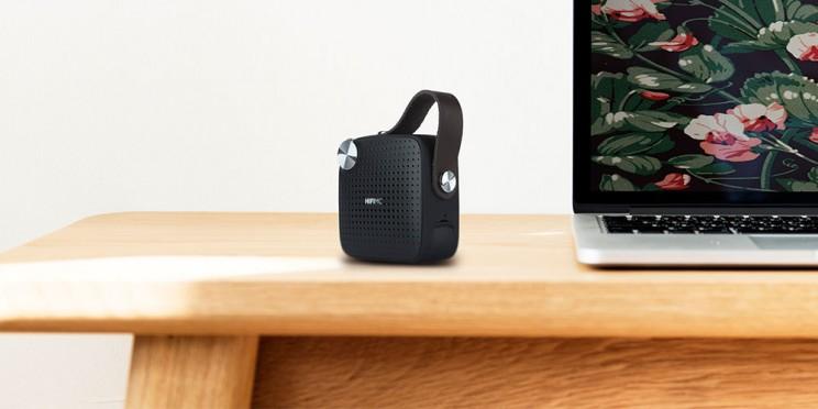 This Retro Inspired Bluetooth Speaker Also Plays FM Radio