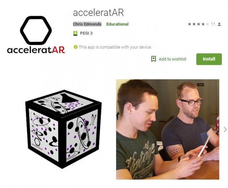 science apps for smartphones acceleratAR