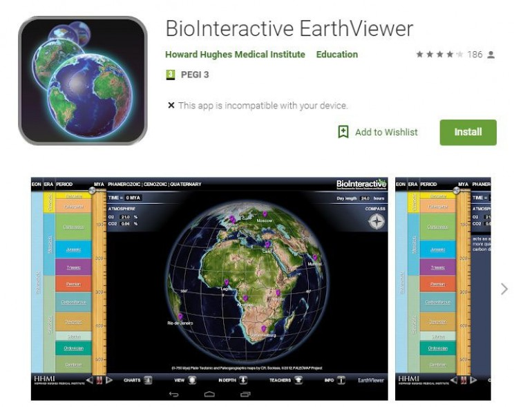 science apps for smartphones biome