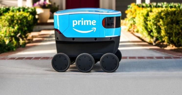 Amazon Introduces Wheeled Autonomous Robots for Suburban Parcel Delivery