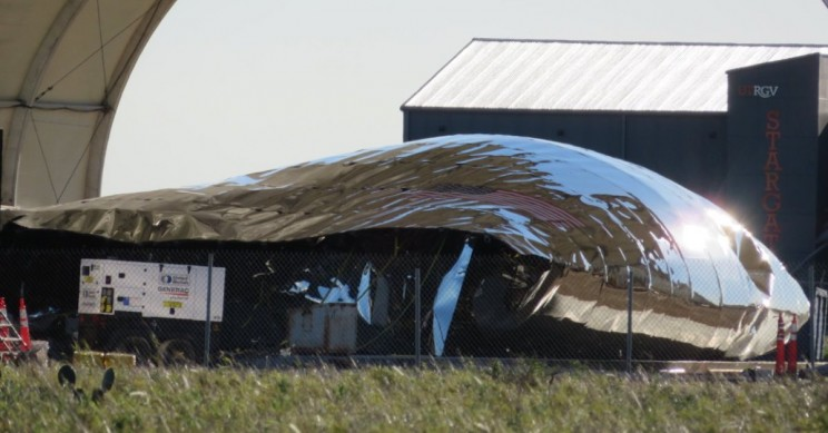 SpaceX Starship Prototype Damaged by Severe Winds